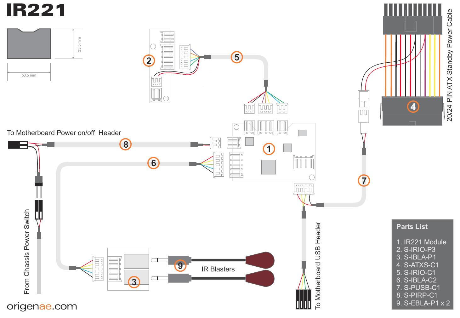 assembling wiring diagram sata